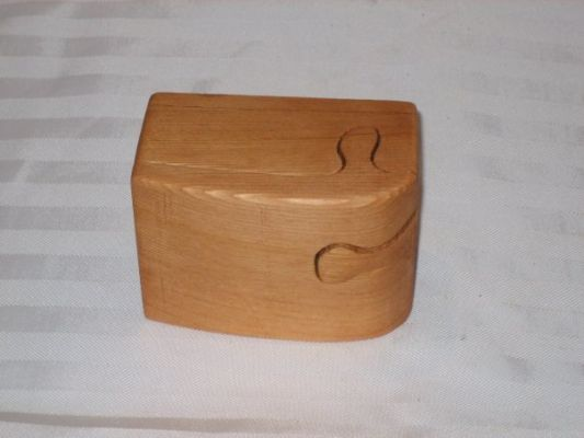Puzzle Box With Secret Compartment