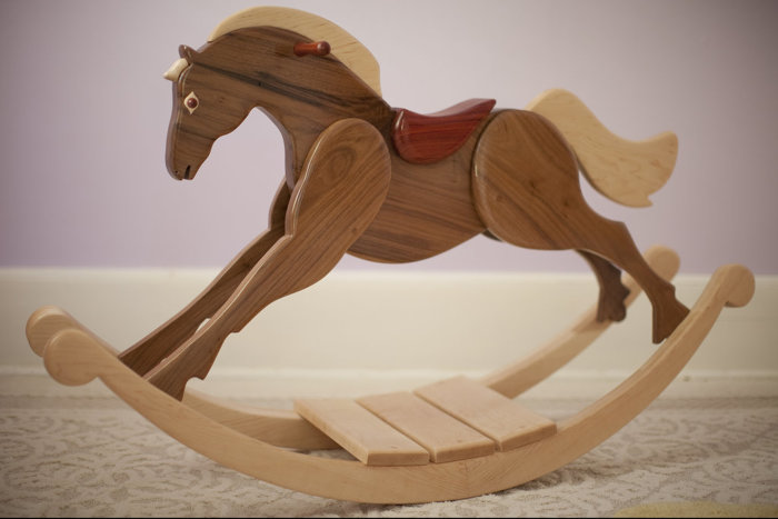 Rocking Horse Finewoodworking
