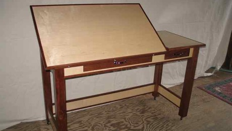Drafting Table Finewoodworking