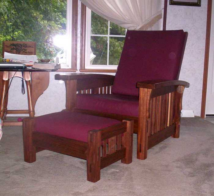 Morris Chair Finewoodworking