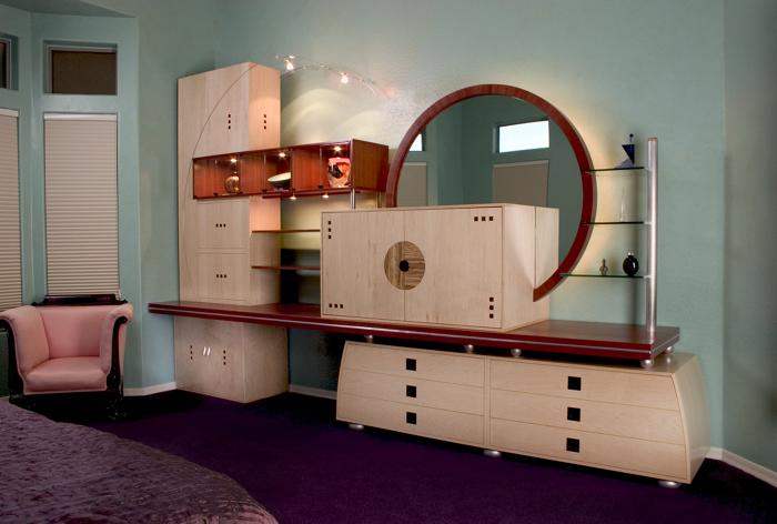 8-piece bedroom wall unit & Bedroom Storage/Display Unit - FineWoodworking