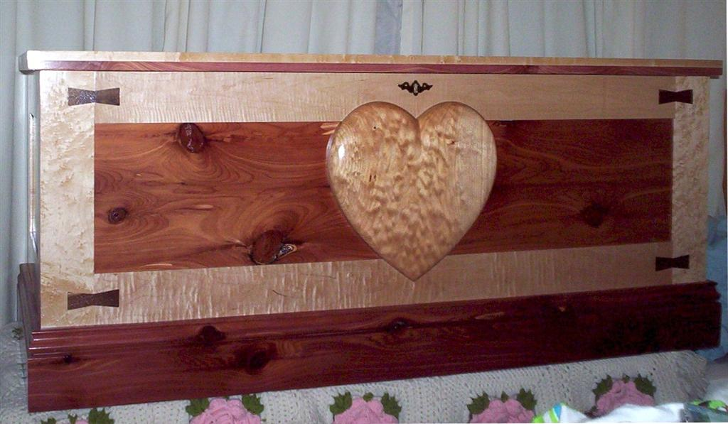 Our Daughter S Hope Chest Finewoodworking