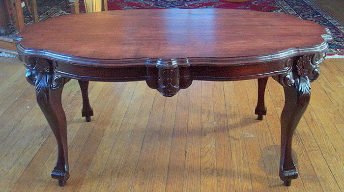 Super Carved Coffee Table In French Provincial Style Finewoodworking Bralicious Painted Fabric Chair Ideas Braliciousco