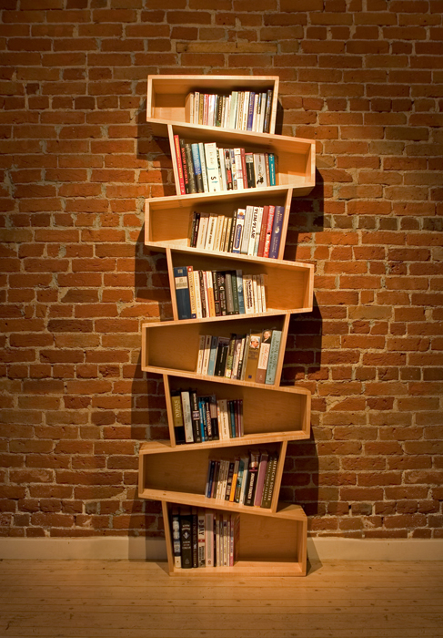 Switchback Bookcase Finewoodworking