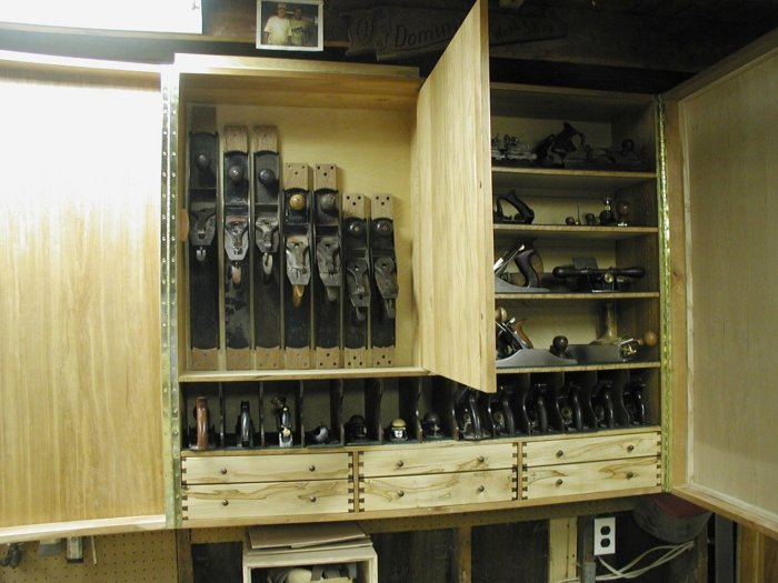 Wall Mounted Hand Tool Cabinet