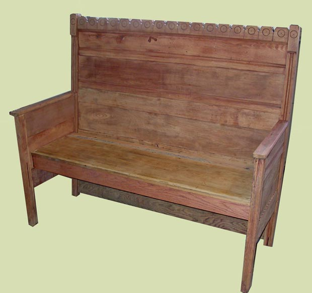 Outstanding Rustic Bench From Old Bed Finewoodworking Forskolin Free Trial Chair Design Images Forskolin Free Trialorg