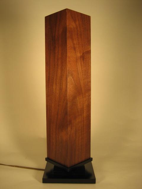 Fallingwater Bedside Lamp Finewoodworking