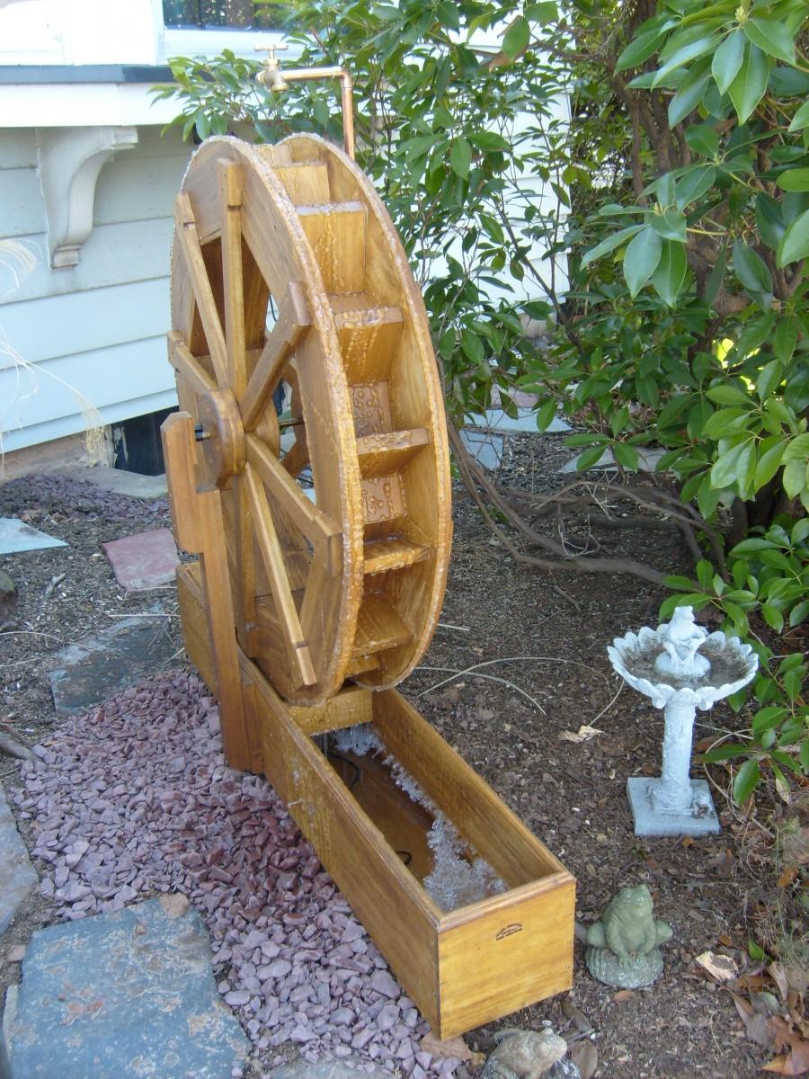 Water Wheel - FineWoodworking