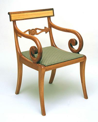 Super Federal Klismos Chair Finewoodworking Unemploymentrelief Wooden Chair Designs For Living Room Unemploymentrelieforg