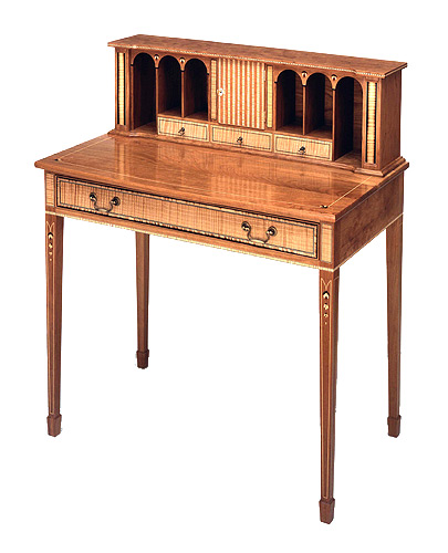 Ladies federal writing desk finewoodworking