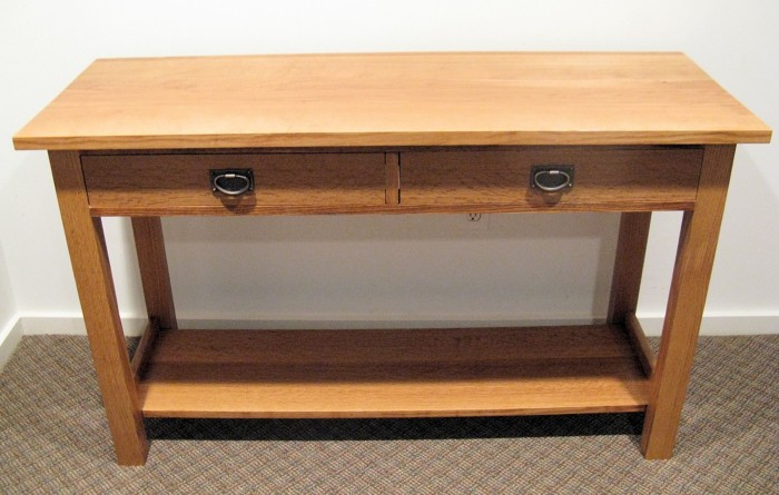 Mission Style Console Table