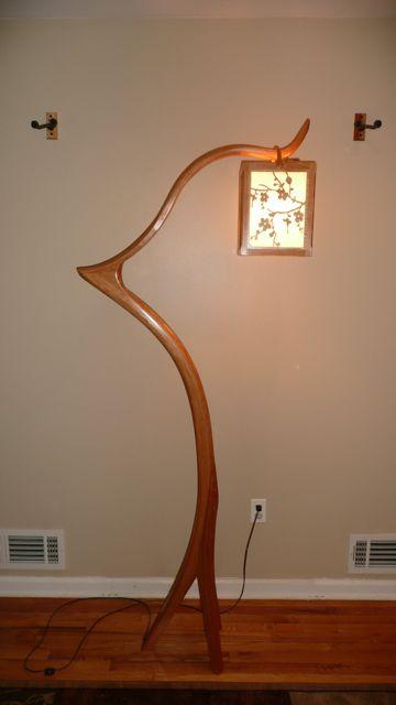 Floor Lamp Finewoodworking