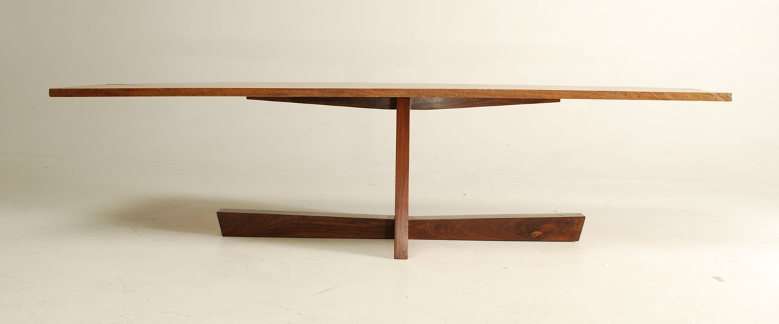 Fine Woodworking End Table Plans: George Nakashima Inspired Coffee Table