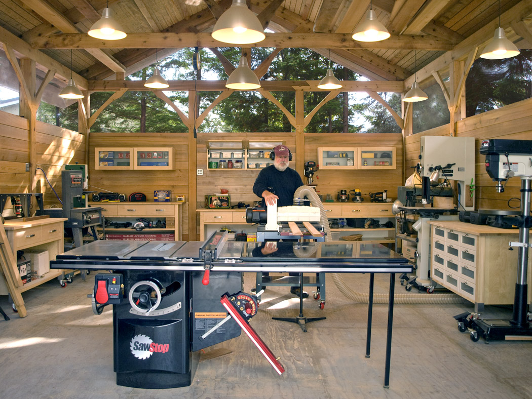 Timber Frame Work Shop Finewoodworking