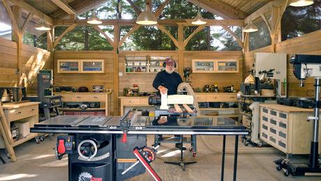 Timber Frame Work Shop Finewoodworking