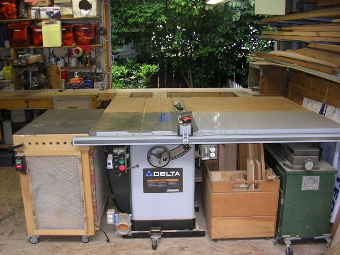Small Backyard Shop E Bergh Finewoodworking