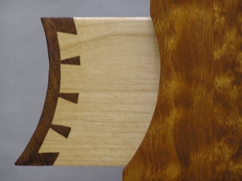 Curved Dovetails On Small Lingerie Chest Finewoodworking
