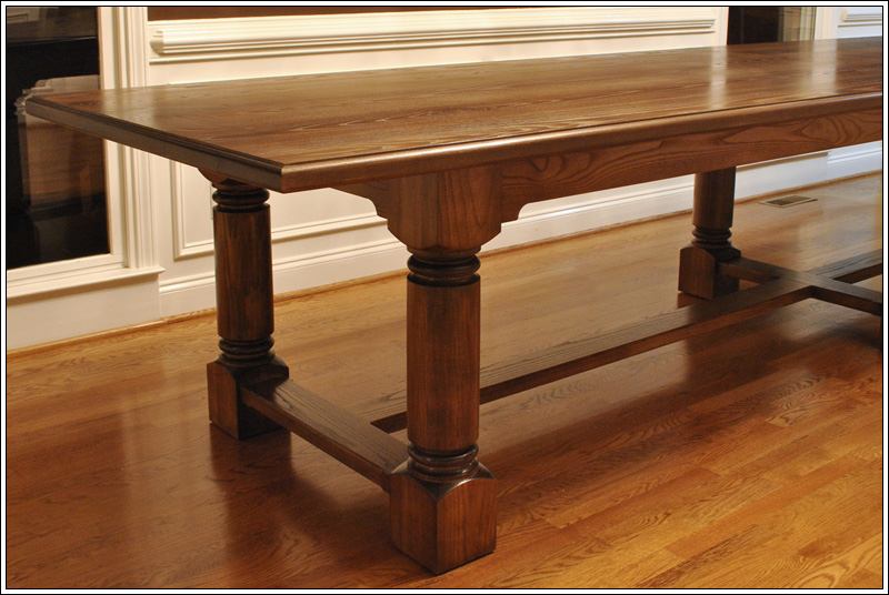 Solid Ash Refectory Table
