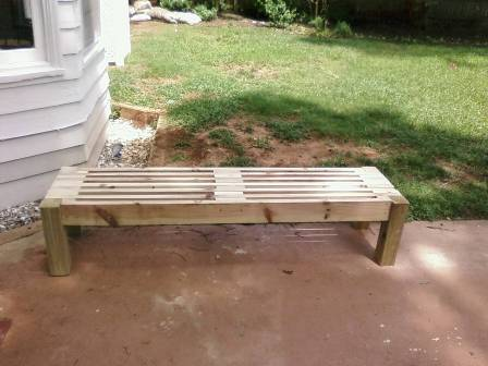 Simple Garden Bench - FineWoodworking on simple table designs, simple gate designs, simple patio designs, simple garage designs, simple nursery designs, simple wood designs, simple stool designs, simple fireplace designs, simple chair designs, simple greenhouse designs, simple grass designs, simple fence designs, simple zebra designs, simple home designs, simple vintage designs, simple cabinet designs, simple tree designs, simple art designs, simple door designs, simple furniture designs,