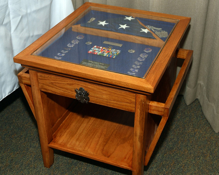 Militaryretirement Shadow Box Table Finewoodworking