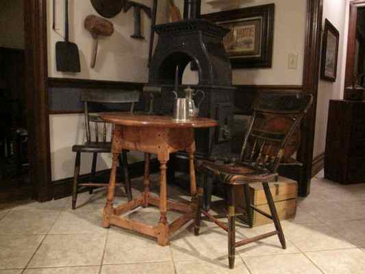 The Original Colonial Tavern Table Modeled For This Project Came From  Wexford, Pennsylvania And Has Been Dated By Appraisers To Be Constructed  Somewhere ...