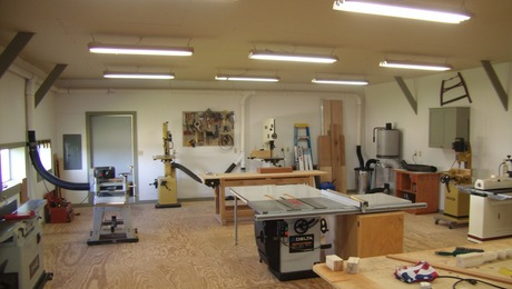 Work Shop Of Byrd Woodworking Finewoodworking