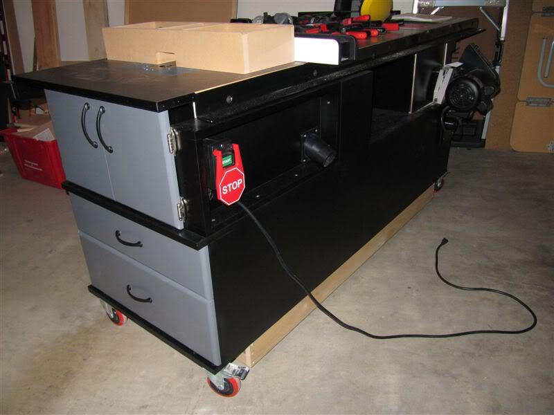 My Sawstop And Router Mobile Cabinet Finewoodworking