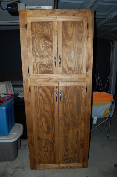 My First Piece My Wife S Pantry Cabinet Finewoodworking