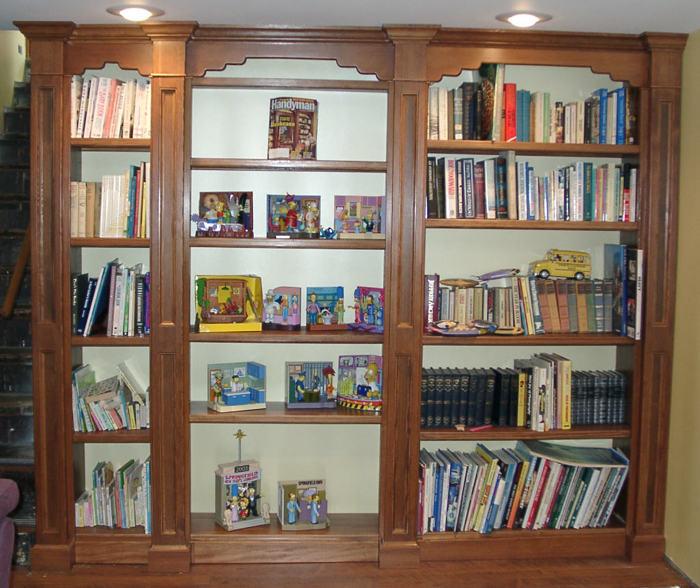 Secret Door Bookcase Finewoodworking
