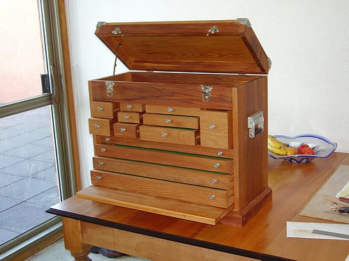 Machinist's Chest - FineWoodworking