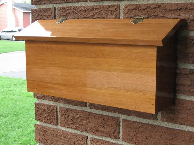 Cedar Mailbox Finewoodworking