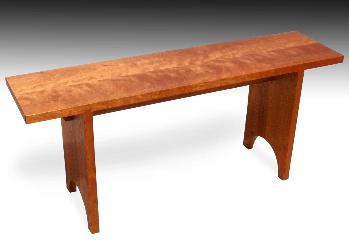 shaker bench, cherry - finewoodworking