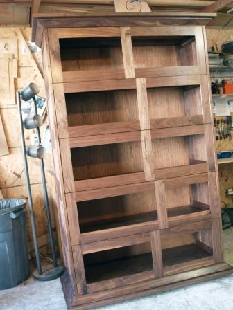 Stacking Barrister S Bookcase Walnut Finewoodworking