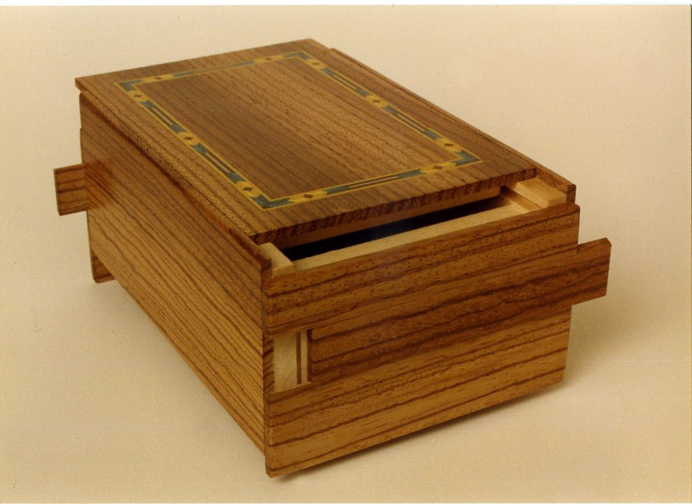 Zebrawood Puzzle box - FineWoodworking