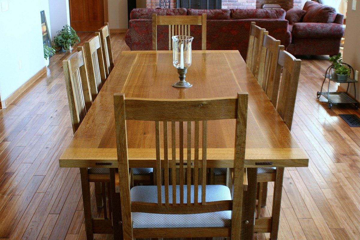 Stickley Dining Room Table & Chairs