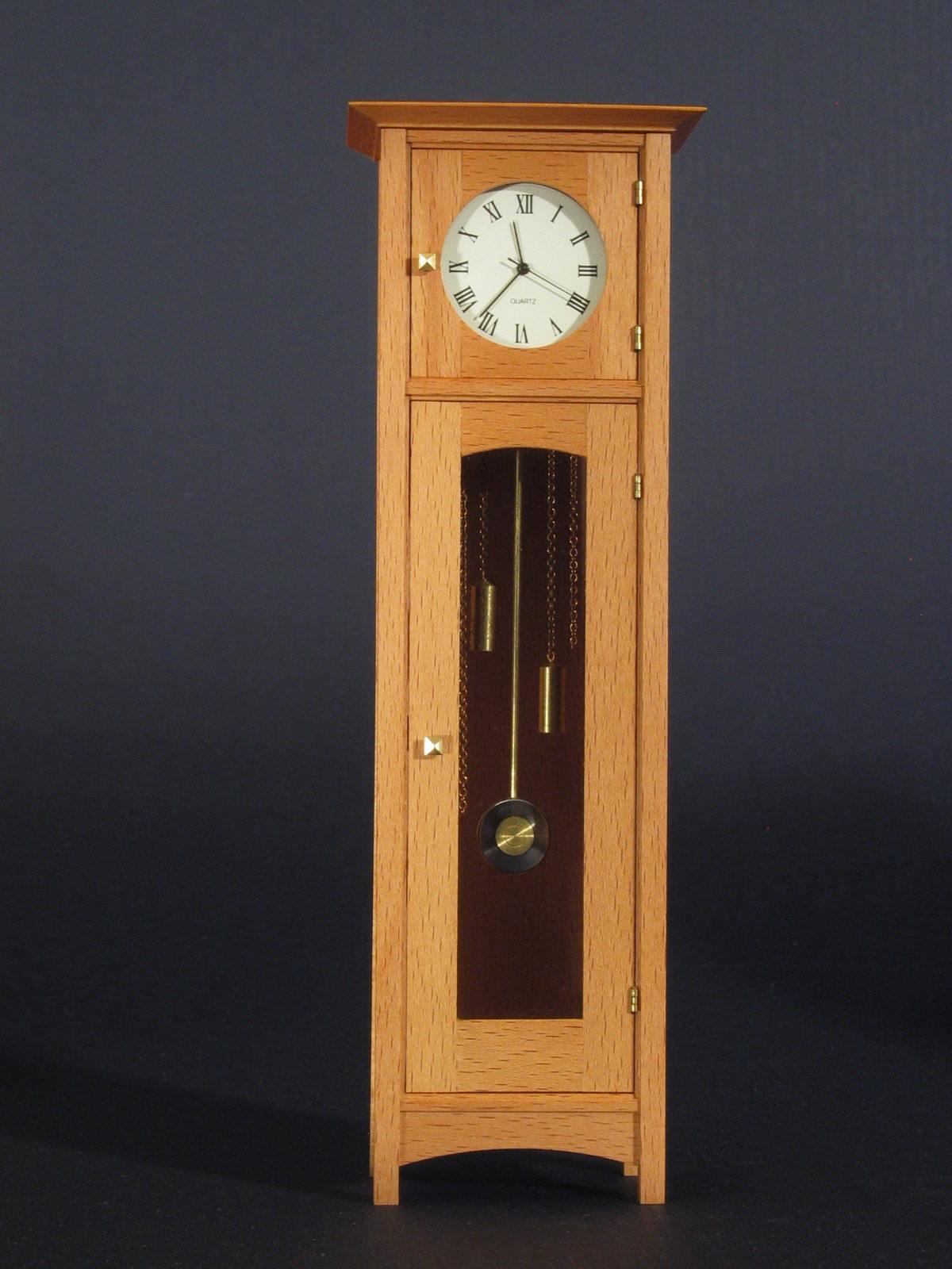 Stickley Hall Clock Finewoodworking
