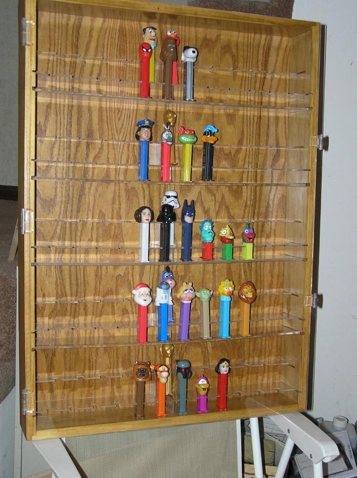 Pez Display Cabinet Finewoodworking