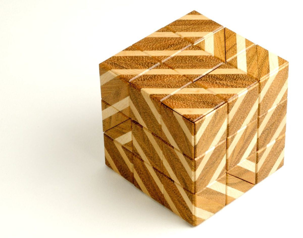 Barcode Burr puzzle - FineWoodworking