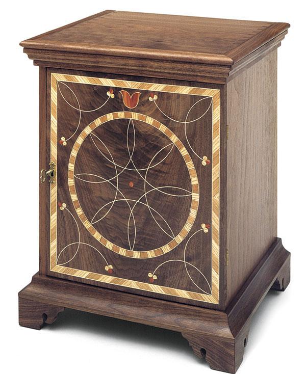 Pennsylvania Spice Box Plans: Queen Anne-style Spice Box