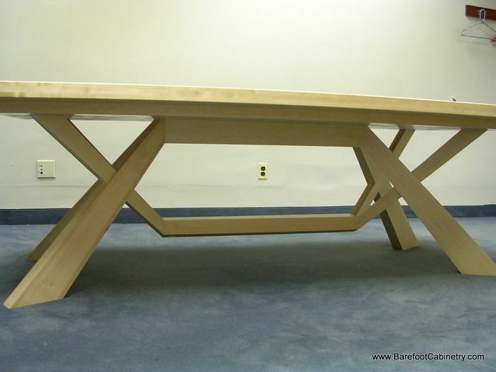Maple Anigre Conference Table FineWoodworking - Build a conference table