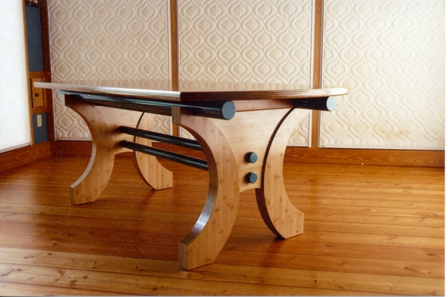 Bamboo Dining Table Finewoodworking