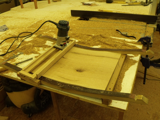 Curved Router Carriage Finewoodworking