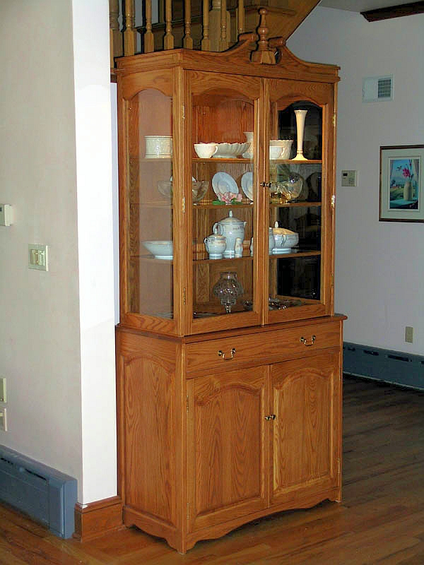 oak china cabinet oak china cabinet finewoodworking 23838