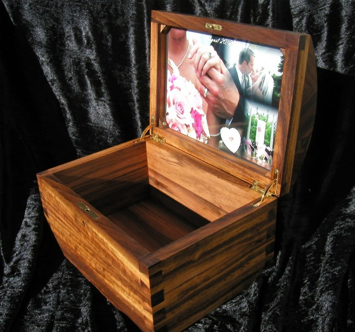 Cocobolo Photo Frame Keepsake Box Finewoodworking