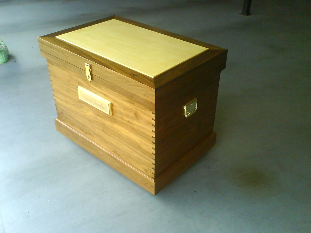 Horse Tack Trunk Finewoodworking