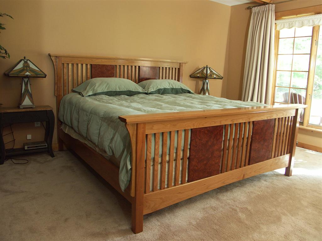 Craftsman King Bed Finewoodworking