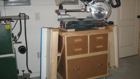 Miter Saw Planer Stand Finewoodworking