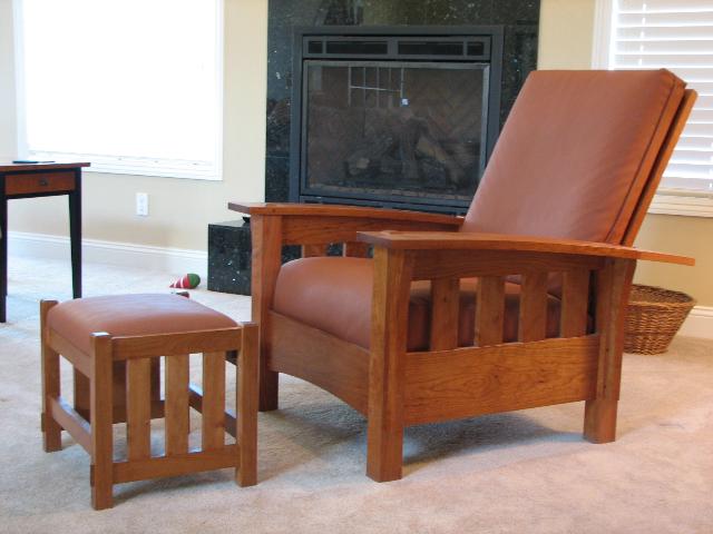 Bow Arm Morris Chair Finewoodworking