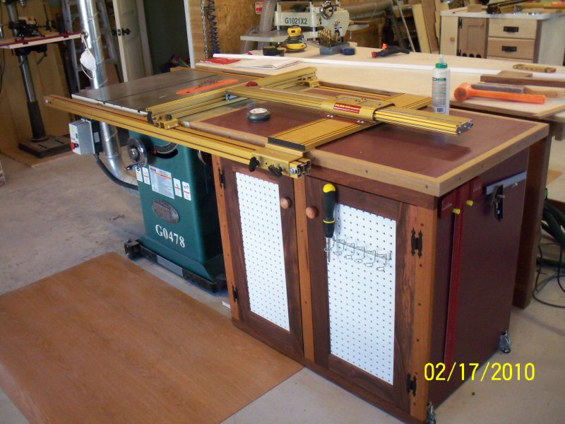Etonnant Table Saw Extension Cabinet