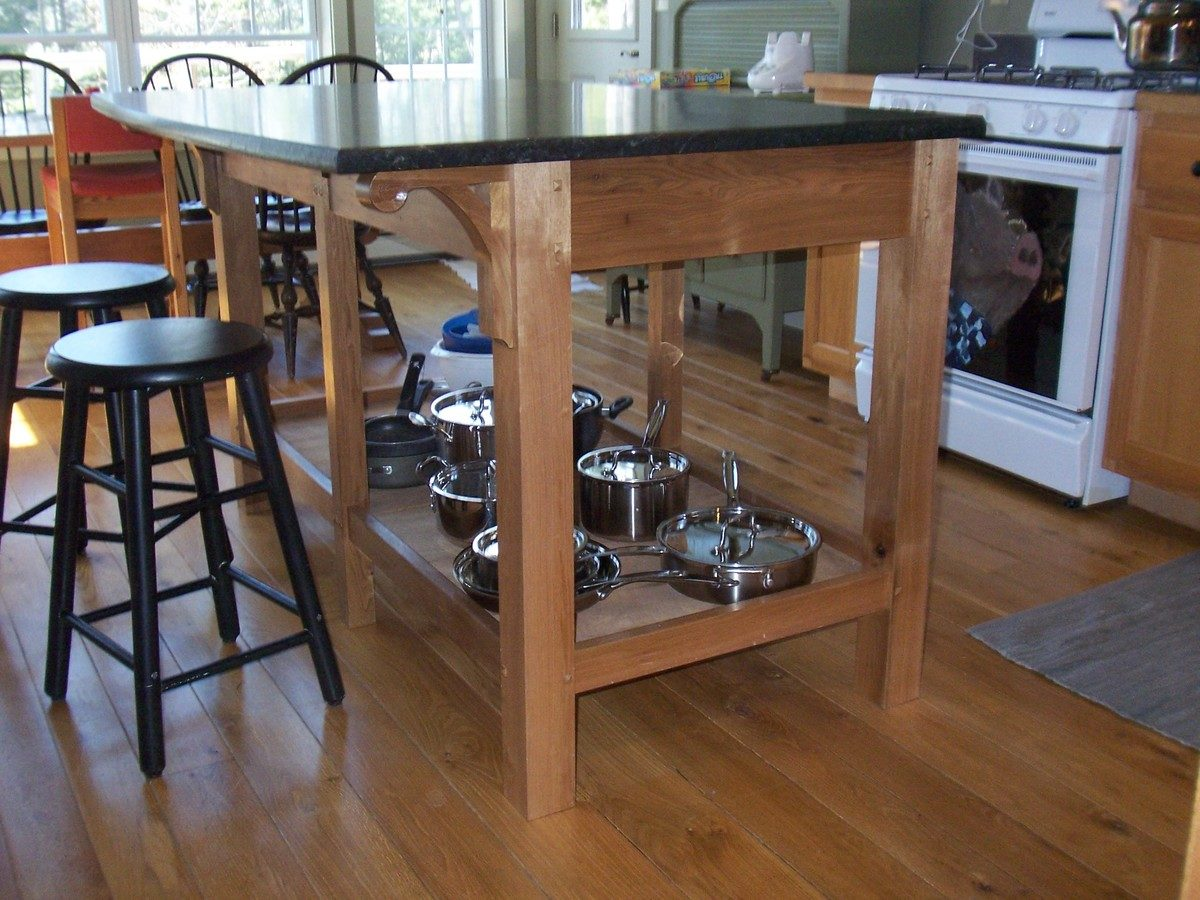Picture of: Kitchen Island Finewoodworking